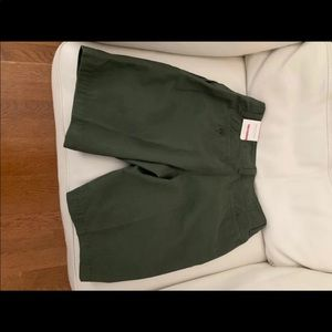 New men's Old Navy green shorts size 30